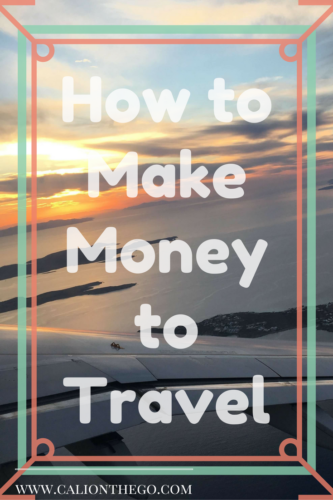 Here are a few quick ways to make money without having a real job. Some can also be completed while traveling. What are you waiting for?