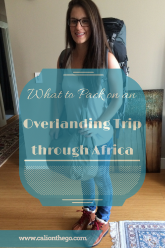 You are going on an adventure of a lifetime through Africa! What on earth should you pack? Here is a list of clothing, gear, and first aid suggestions