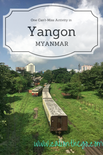 Read about one budget activity in Yangon, Myanmar that does not involve temples! Get the local experience without having to get out of your seat