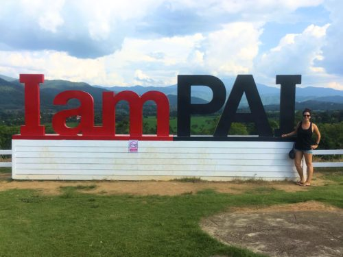 I am Pai sign at Coffee in Love