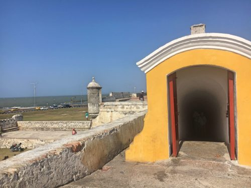 More from the city walls of Cartagena