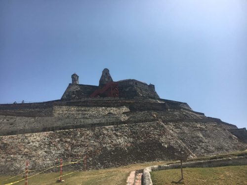 Castle on the Hill in Cartagena