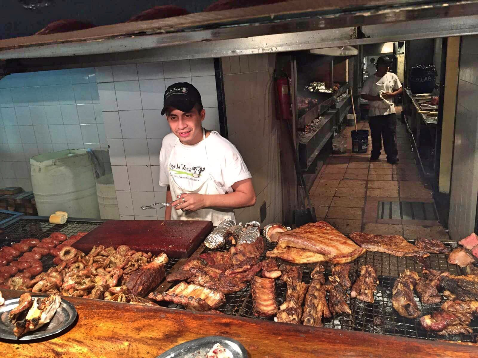 Man with all the meat Buenos Aires