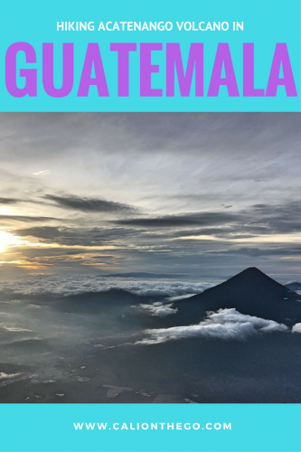 Everything you need to know about hiking Acatenango Volcano in Guatemala. What to bring; which tour to book; how hard is hard?